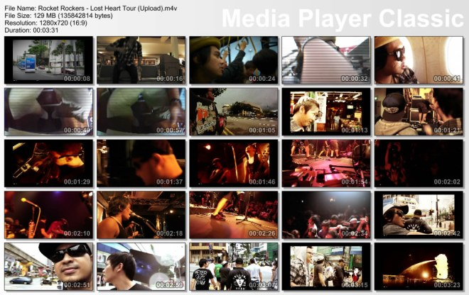 Rocket Rockers - Lost Heart Tour Thumbnails
